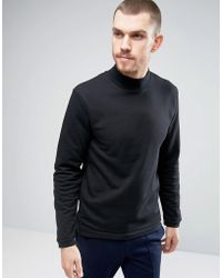 Casual Friday - Sweatshirt With High Neck - Lyst