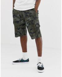 Billabong - Pantalones cortos cargo en diseño de camuflaje Scheme - Lyst