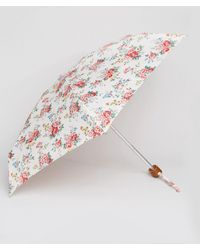 Cath Kidston - Tiny 2 Spray Flowers Cream Umbrella - Lyst