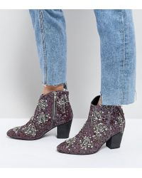 Free People - Festival Ankle Boots - Lyst