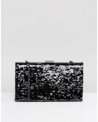 Nali | Camoflage Sequin Clutch Bag | Lyst