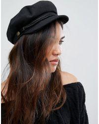 Brixton - Baker Boy Hat In Black - Lyst
