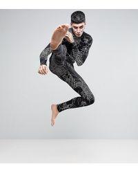 ASOS | Halloween Pyjama Set With Spider Web Print | Lyst