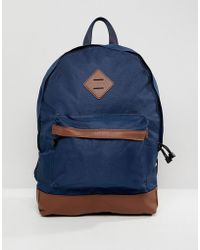 New Look - Backpack In Blue - Lyst