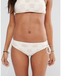 Billabong - Star Lattice Bikini Bottom - Lyst