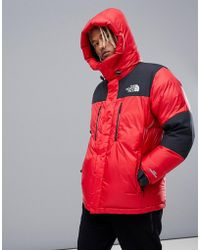 The North Face - Original Himalayan Gore-tex Windstopper Down In Red - Lyst