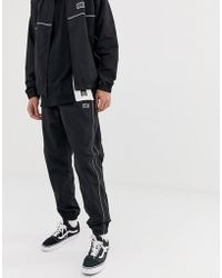 ddc33d741 The North Face Mountain Tech Cuffed Jogger In Black in Black for Men ...