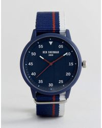 Ben Sherman - Wb076u Navy Nato Watch - Lyst