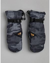 Quiksilver - Mission Mitt In Camo - Lyst