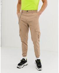 plus grand choix extrêmement unique achat original Pantalon cargo avec chaîne - Fauve - Neutre