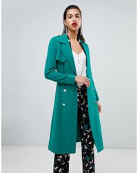 Morgan - Belted Duster Coat - Lyst