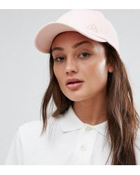 Le Coq Sportif - Exclusive To Asos Cap In Pink - Lyst