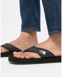 The North Face - Base Camp Flip-flops In Black - Lyst