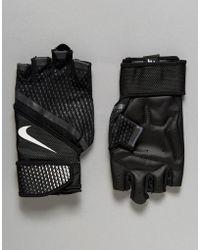 Nike - Training Destroyer Gloves In Black Lg.b4-031 - Lyst