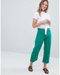 Monki - Wide Leg Jeans - Lyst