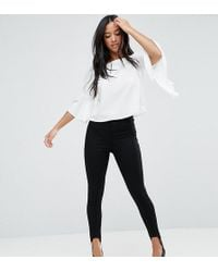 Miss Selfridge - Stirrup Jegging - Lyst