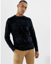Threadbare - Chenille Knitted Jumper - Lyst