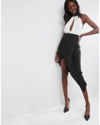 ASOS - Asos Origami Rib Pencil Skirt - Lyst