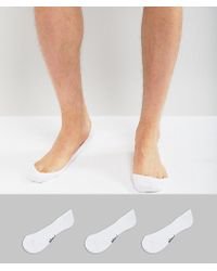 Pringle of Scotland - 3 Pack Invisible Socks - Lyst