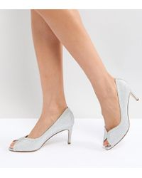 72d9fccf2fbb Lyst - ASOS Prosecco Pointed High Heels in Metallic