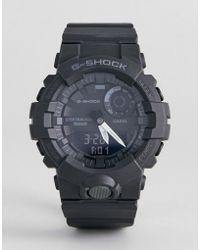 G-Shock - G-shock Gba-800-1aer Digital Silicone Hybrid Smart Watch In Black - Lyst