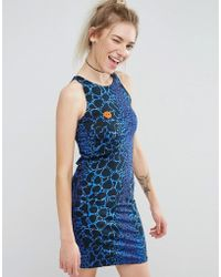 Illustrated People - Bodycon Dress - Lyst