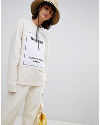 Weekday - Limited Collection Boyfriend Long Sleeve Top - Lyst