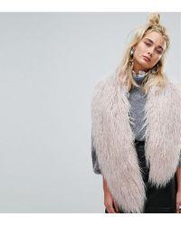 Urbancode   Faux Mongolian Fur Scarf   Lyst