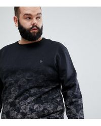Noose And Monkey - Plus All Over Printed Sweat - Lyst