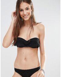 e1e71ef69223a Lyst - Undiz Orangitiz Bikini Top in Black