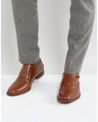 ALDO - Catallo Monk Leather Shoes - Lyst