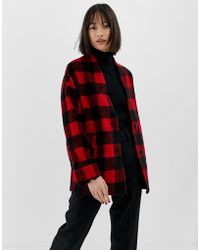Warehouse - Jacket In Check - Lyst