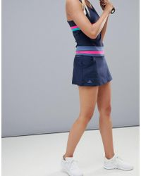 adidas - Tennis Skirt In Black - Lyst