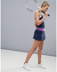 adidas - Tennis Skirt In Black - Lyst