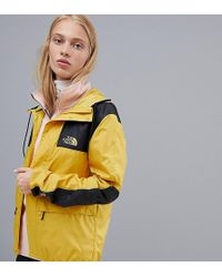 The North Face - Exclusive To Asos Mountain Jacket 1985 Seasonal Celebration In Yellow - Lyst