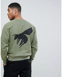 Abuze London - Abz London Script Logo Back Print Sweater - Lyst