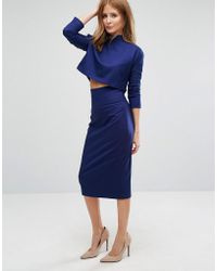 Millie Mackintosh - Tailored Pencil Skirt Co-ord - Lyst