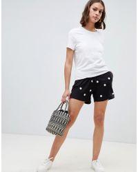 Ichi - Spot Shorts - Lyst