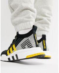 adidas Originals - EQT Support Mid ADV - Baskets - Noir CQ2999 - Lyst