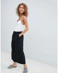 Miss Selfridge - Wide Leg Trousers - Lyst