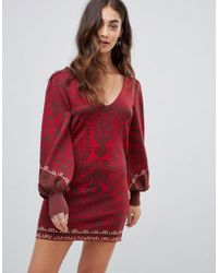 Free People - Music And Lyrics Knitted Mini Dress - Lyst