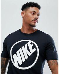 Nike - Blue Harbour Logo T-shirt In Black 911911-010 - Lyst