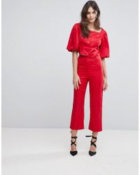 Fashion Union - Tailored Trousers Co-ord - Lyst