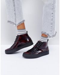 Fred Perry - X George Cox Creeper Boot - Lyst