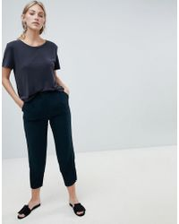 Native Youth - Peg Pants With Gathered Hem Detail - Lyst