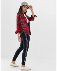 Hollister - Cosy Skinny joggers With Logo Taping - Lyst