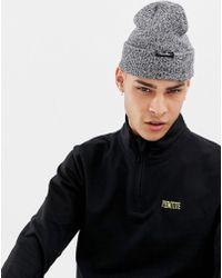 Primitive - Jaanie Folder Beanie In Grey - Lyst