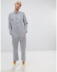 Carhartt WIP - Relaxed Boiler Suit In Stripe - Lyst