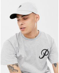 08350d44993 Lyst - Primitive Minor League Snapback Cap With Classic Logo In Gray ...