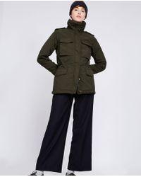 Aspesi - Garment Dyed Nylon Field Jacket Croissant - Lyst
